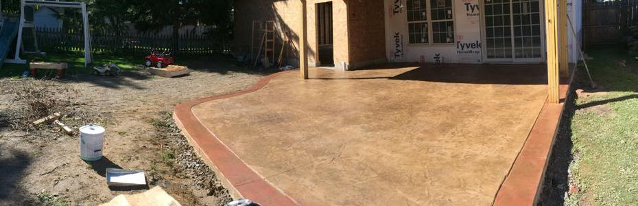 Custom Patio Concrete...